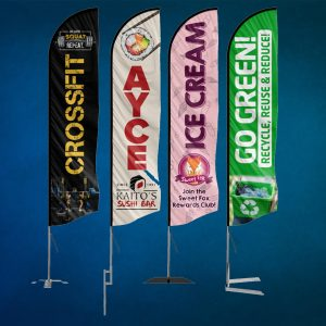 Advertising flags 2